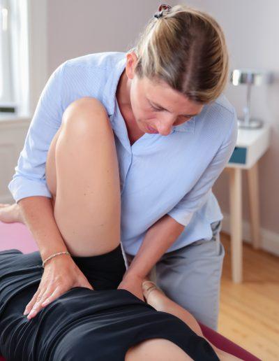 Osteopathie Hamburg Sonja Schrader - Osteopathie Behandlung