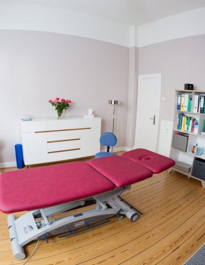 Osteopathie Hamburg Sonja Schrader - Behandlungsraum